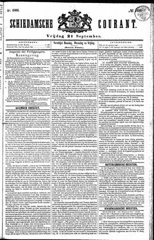Schiedamsche Courant 1866-09-21