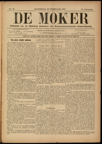 De Moker 1904-02-20