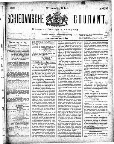Schiedamsche Courant 1885-07-08