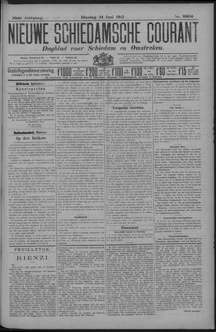 Nieuwe Schiedamsche Courant 1913-06-24