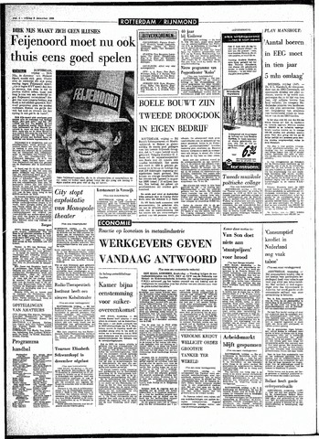 Rotterdamsch Parool / De Schiedammer 1968-12-06