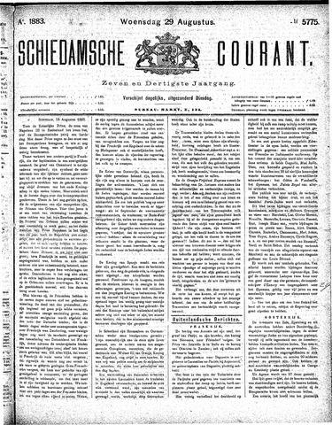 Schiedamsche Courant 1883-08-29