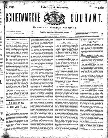 Schiedamsche Courant 1883-08-04