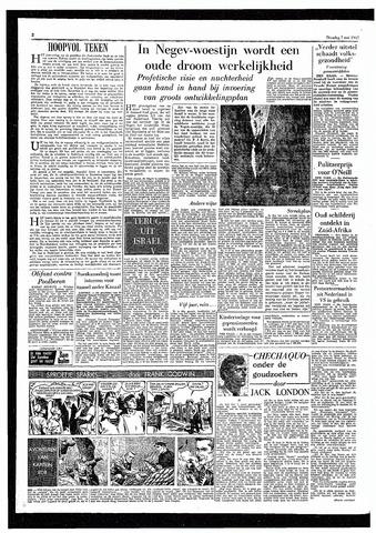 Rotterdamsch Parool / De Schiedammer 1957-05-07