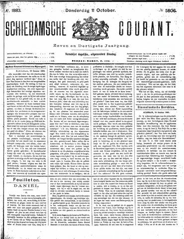 Schiedamsche Courant 1883-10-11