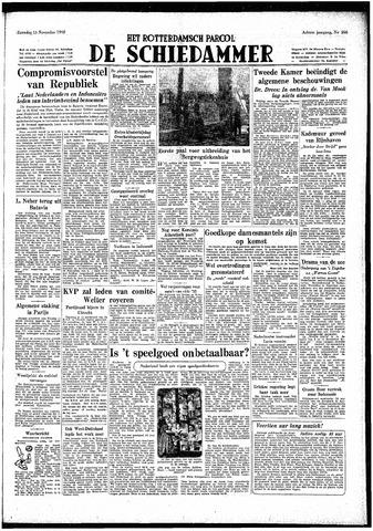 Rotterdamsch Parool / De Schiedammer 1948-11-13