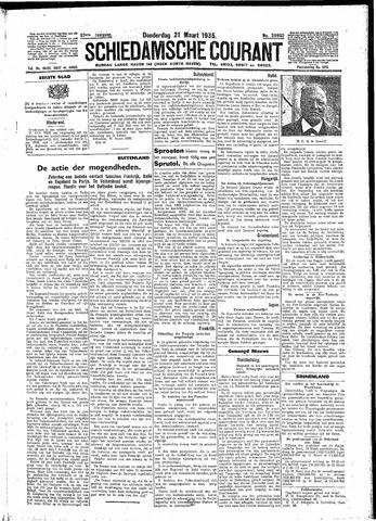 Schiedamsche Courant 1935-03-21