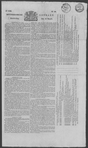 Rotterdamse Courant 1836-03-10
