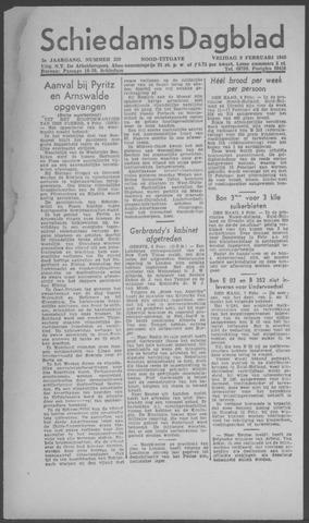 Schiedamsch Dagblad 1945-02-09