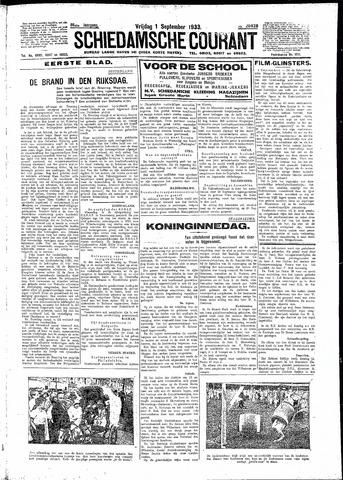 Schiedamsche Courant 1933-09-01