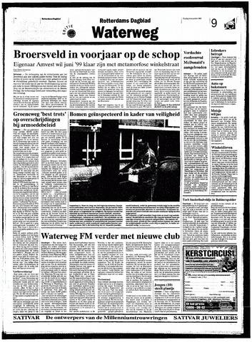 Rotterdamsch Nieuwsblad / Schiedamsche Courant / Rotterdams Dagblad / Waterweg / Algemeen Dagblad 1998-12-04