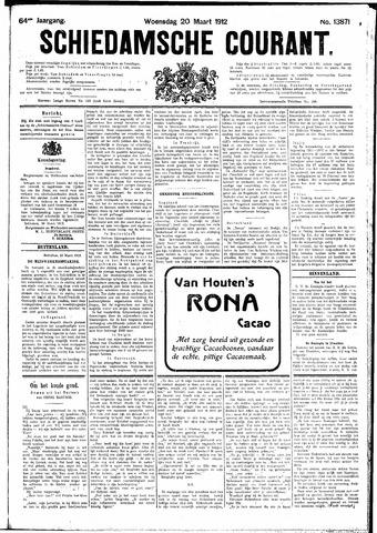 Schiedamsche Courant 1912-03-20