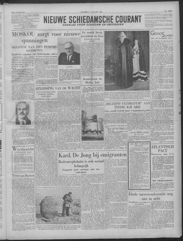 Nieuwe Schiedamsche Courant 1949-03-05