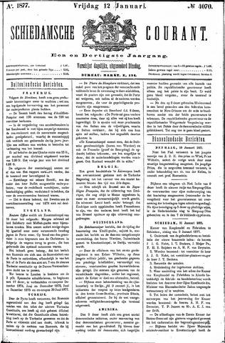 Schiedamsche Courant 1877-01-12