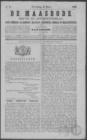 De Maasbode 1853-03-02