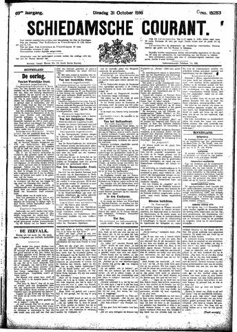 Schiedamsche Courant 1916-10-31