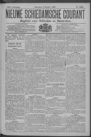 Nieuwe Schiedamsche Courant 1909-10-02
