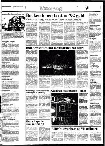 Rotterdamsch Nieuwsblad / Schiedamsche Courant / Rotterdams Dagblad / Waterweg / Algemeen Dagblad 1991-09-23