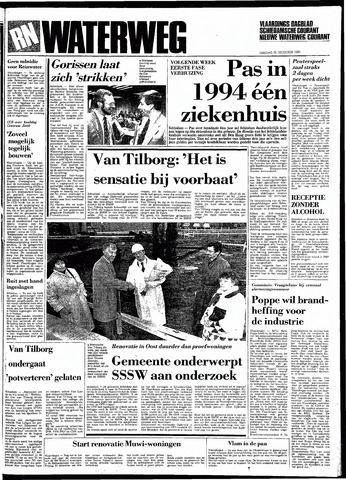 Rotterdamsch Nieuwsblad / Schiedamsche Courant / Rotterdams Dagblad / Waterweg / Algemeen Dagblad 1983-12-20