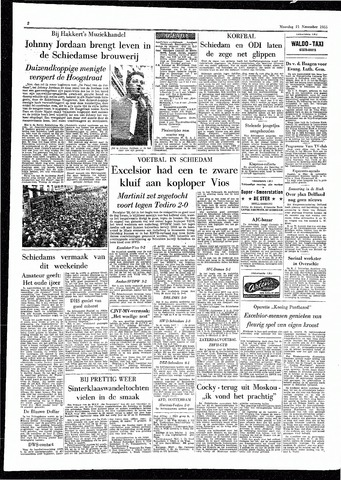 Rotterdamsch Parool / De Schiedammer 1955-11-21