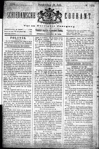 Schiedamsche Courant 1881-07-21