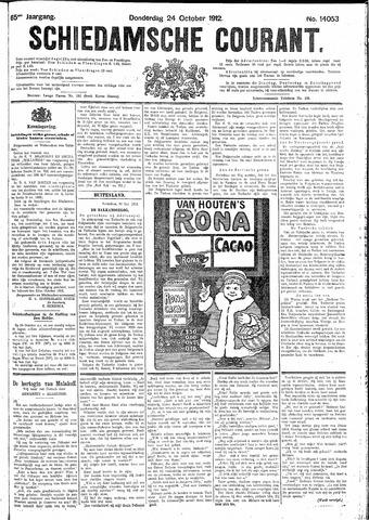 Schiedamsche Courant 1912-10-24
