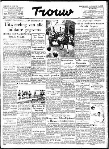 Trouw / De Rotterdammer 1955-07-22