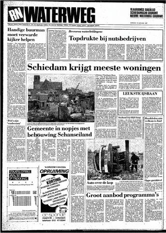Rotterdamsch Nieuwsblad / Schiedamsche Courant / Rotterdams Dagblad / Waterweg / Algemeen Dagblad 1987-01-20