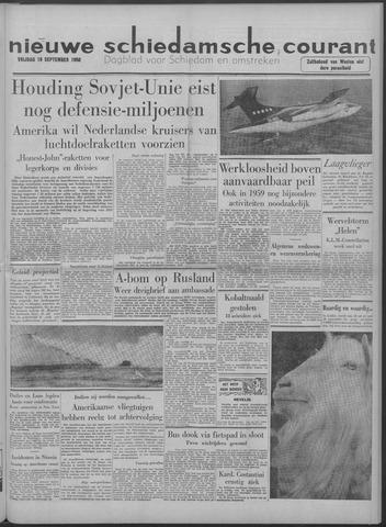 Nieuwe Schiedamsche Courant 1958-09-19