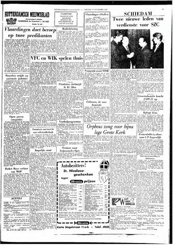 Rotterdamsch Nieuwsblad / Schiedamsche Courant / Rotterdams Dagblad / Waterweg / Algemeen Dagblad 1964-11-27