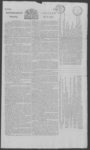 Rotterdamse Courant 1841-04-06