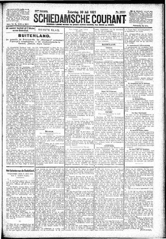 Schiedamsche Courant 1927-07-30