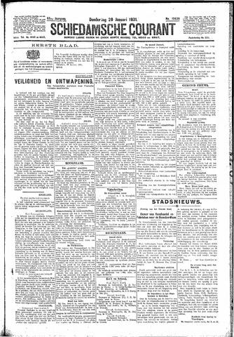 Schiedamsche Courant 1931-01-29