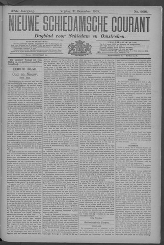 Nieuwe Schiedamsche Courant 1909-12-31
