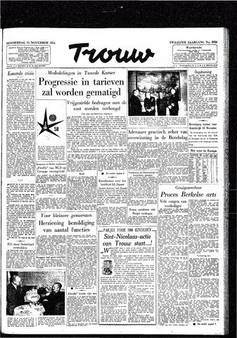 Trouw / De Rotterdammer 1954-11-11
