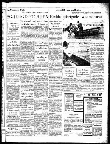 Rotterdamsch Parool / De Schiedammer 1964-08-04