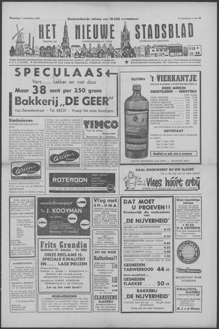 Het Nieuwe Stadsblad 1956-11-07