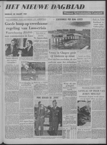 Nieuwe Schiedamsche Courant 1961-03-28