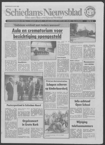 Schiedams Nieuwsblad 1985-06-19