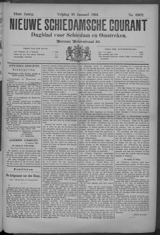 Nieuwe Schiedamsche Courant 1901-01-18