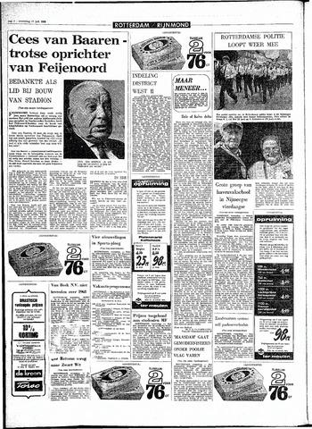 Rotterdamsch Parool / De Schiedammer 1968-07-17