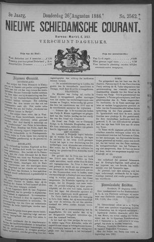 Nieuwe Schiedamsche Courant 1886-08-26
