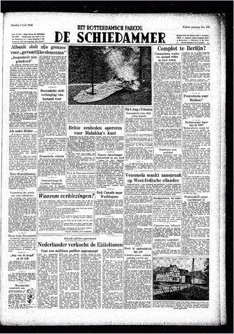 Rotterdamsch Parool / De Schiedammer 1948-07-06