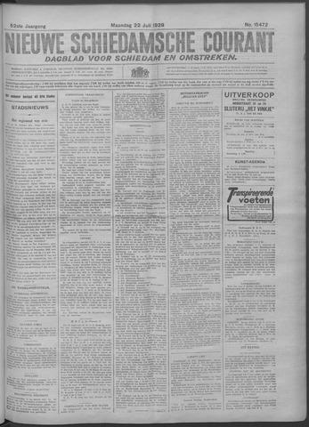 Nieuwe Schiedamsche Courant 1929-07-22