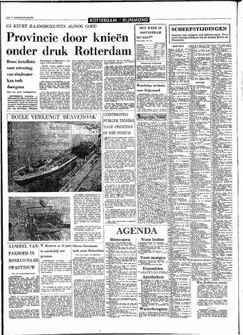 Rotterdamsch Parool / De Schiedammer 1970-07-29