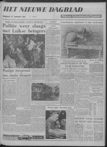 Nieuwe Schiedamsche Courant 1961-01-17