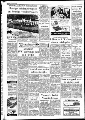 Rotterdamsch Parool / De Schiedammer 1961-08-14
