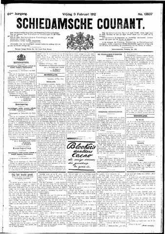 Schiedamsche Courant 1912-02-09