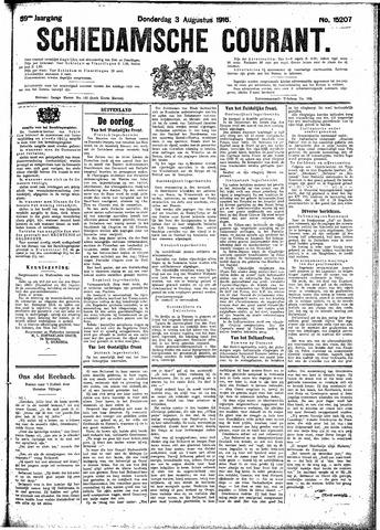 Schiedamsche Courant 1916-08-03