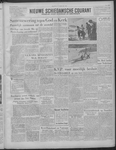 Nieuwe Schiedamsche Courant 1949-02-14